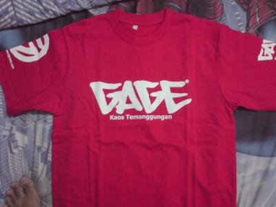 GAGE Merah Depan