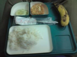 Makan malam di KA Turangga