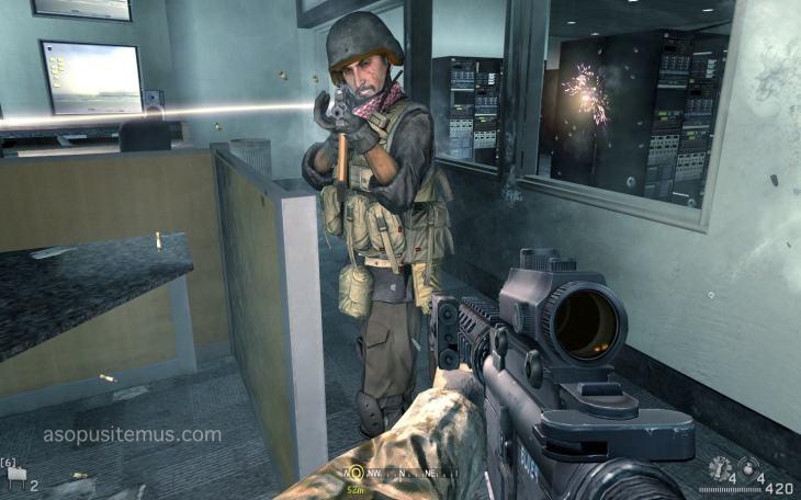Tentara Irak vs Tentara Amerika call of duty 4 modern warfare screenshot