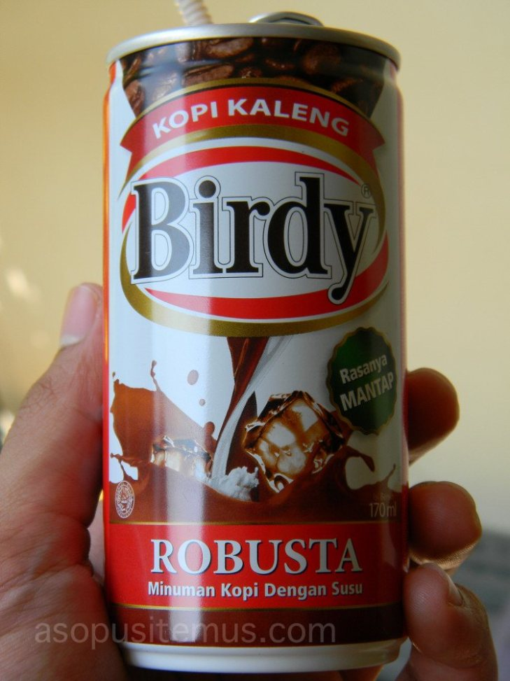 kopi instan Birdy Robusta kopi susu