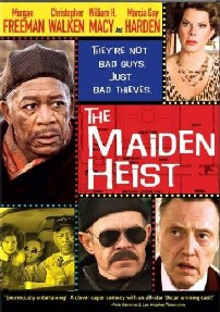 The Maiden Heist cover sampul