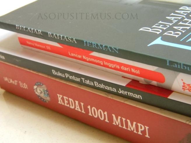 empat buku kedai 1001 mimpi