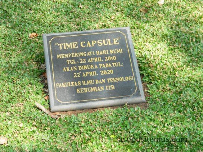 time capsule kapsul waktu ITB