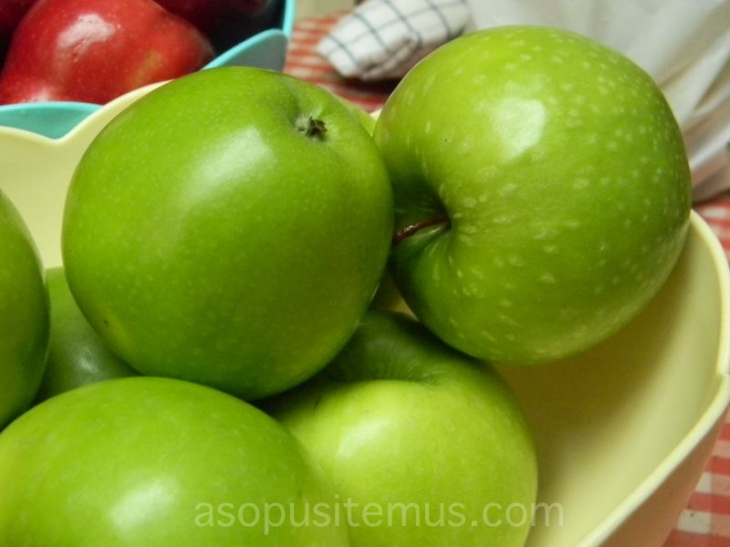 apel hijau granny smith