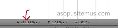 screenshot kecepatan koneksi internet telkom speedy