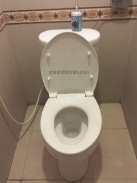 Toilet dg penutup