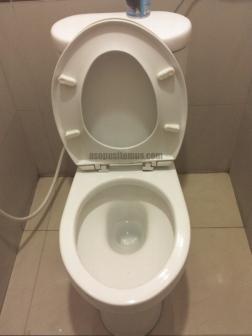 Toilet tanpa penutup